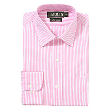 Buy Lauren by Ralph Lauren Poplin Stripe Long Sleeve Shirt Online at johnlewis.com