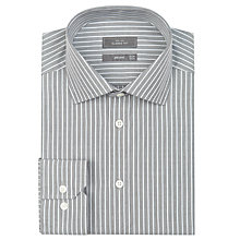 Buy John Lewis Classic Fine Robe Stripe Long Sleeve Shirt Online at johnlewis.com