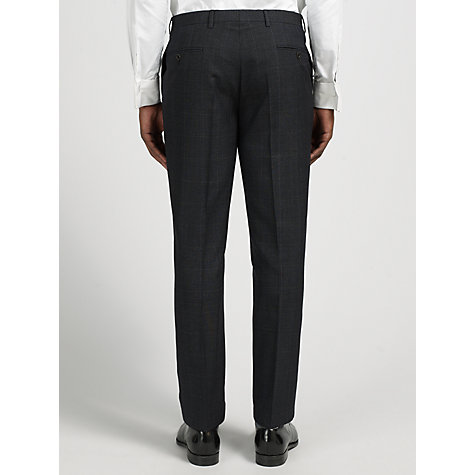 Buy John Lewis Made in England Tailored Check Suit Trousers, Blue/Grey Online at johnlewis.com