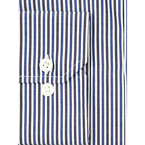 Buy John Lewis Bengal Stripe Long Sleeve Shirt, Blue Online at johnlewis.com