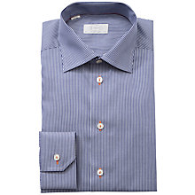 Buy Eton Fine Stripe Long Sleeve Shirt Online at johnlewis.com