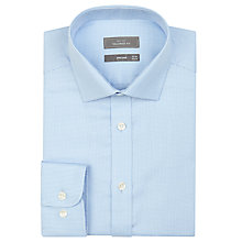 Buy John Lewis Tailored Fit Puppytooth Long Sleeve Shirt Online at johnlewis.com