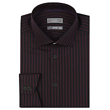 Buy John Lewis Tailored Stripe Long Sleeve Shirt Online at johnlewis.com