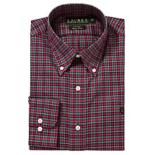Buy Lauren by Ralph Lauren Poplin Tartan Long Sleeve Shirt Online at johnlewis.com