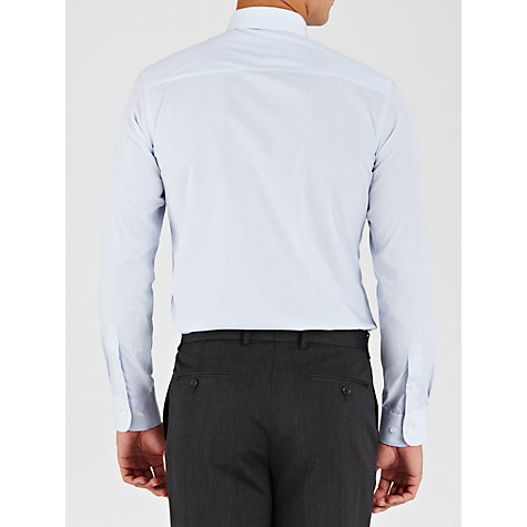Buy John Lewis Tailored Easy Care Hairline Stripe Long Sleeve Shirt Online at johnlewis.com