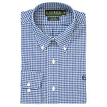 Buy Lauren by Ralph Lauren Poplin Check Long Sleeve Shirt Online at johnlewis.com
