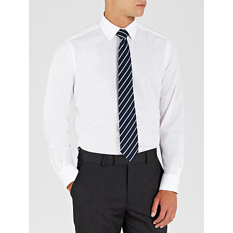 Buy John Lewis Easy Care Poplin Long Sleeve Shirt Online at johnlewis.com