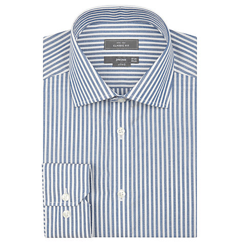 Buy John Lewis Classic Oxford Stripe XL Sleeve Shirt Online at johnlewis.com