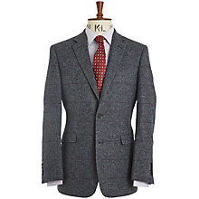 Buy Chester by Chester Barrie Check Wool Tweed Jacket, Blue/Multi Online at johnlewis.com