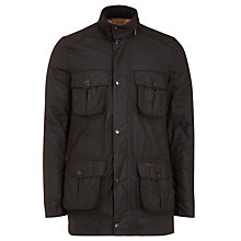 Buy Barbour Corbridge Waxed Jacket Online at johnlewis.com