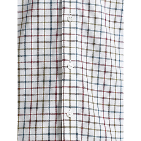 Buy John Lewis Brushed Cotton Open Check Long Sleeve Shirt Online at johnlewis.com