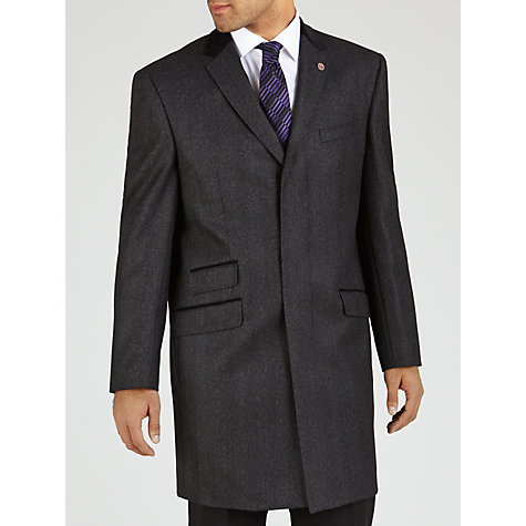 Buy Paul Costelloe Covert Coat, Dark Grey Online at johnlewis.com