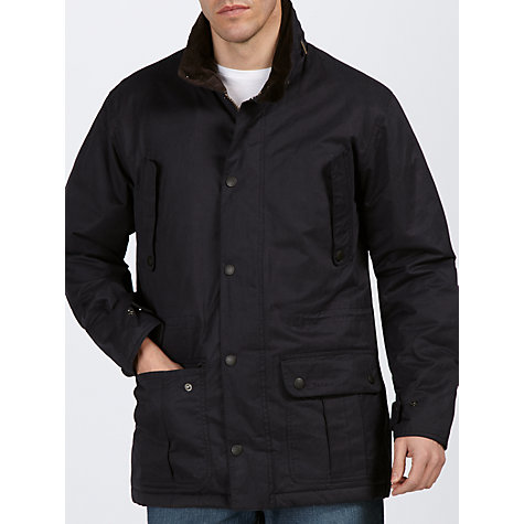 Buy Barbour Wetland Waterproof Jacket, Navy Online at johnlewis.com