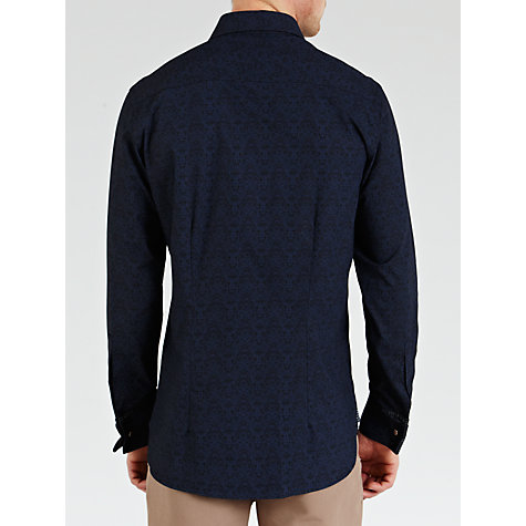 Buy Ted Baker Endurance Chazen Jacquard Print Long Sleeve Shirt Online at johnlewis.com