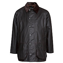 Buy Barbour Beaufort Waxed Jacket, Rustic Online at johnlewis.com
