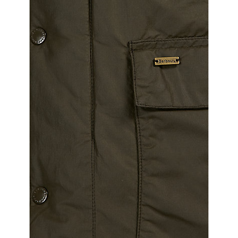 Buy Barbour Kenmuir Waterproof Jacket, Olive Online at johnlewis.com