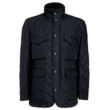 Buy Barbour Grayson Quilted Jacket, Navy Online at johnlewis.com