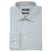Buy John Lewis Brushed Check Shirt, Blue Online at johnlewis.com