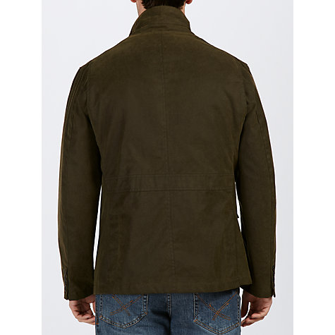 Buy Barbour Lutz Waxed Jacket Online at johnlewis.com