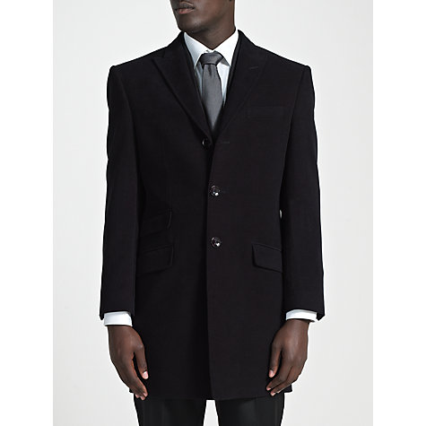 Buy Paul Costelloe Epsom Coat, Navy Online at johnlewis.com