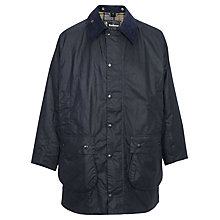 Buy Barbour Border Jacket, Navy Online at johnlewis.com
