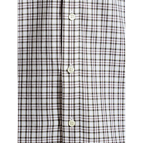 Buy John Lewis Brushed Cotton Loose Check Shirt Online at johnlewis.com