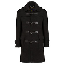 Buy Barbour Classic Wool Duffel Coat, Anthracite Online at johnlewis.com