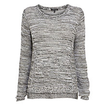 Buy Warehouse Stitch Metallic Jumper, Multi Online at johnlewis.com
