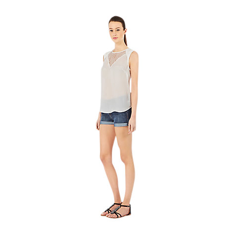 Buy Warehouse Denim Shorts, Indigo Online at johnlewis.com