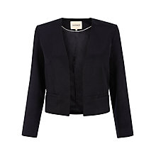 Buy Havren Edge to Edge Crop Jacket, Navy Online at johnlewis.com