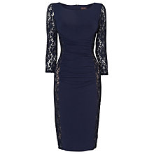 Buy Phase Eight Latoya Lace Miracle Dress, Blue Online at johnlewis.com