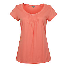 Buy Jigsaw Pleat Front T-Shirt Online at johnlewis.com