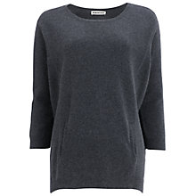 Buy Whistles Elise Curved Jumper Online at johnlewis.com
