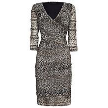 Buy James Lakeland Leopard Ruched Dress, Print Online at johnlewis.com