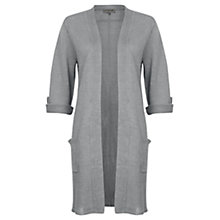 Buy Jigsaw Linen Tab Sleeve Cardigan Online at johnlewis.com
