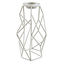 Buy John Lewis Orbit Tealight Holder, H20.5cm, Smoke Online at johnlewis.com