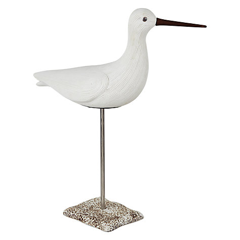 Buy John Lewis Decorative Sea Bird, White Online at johnlewis.com