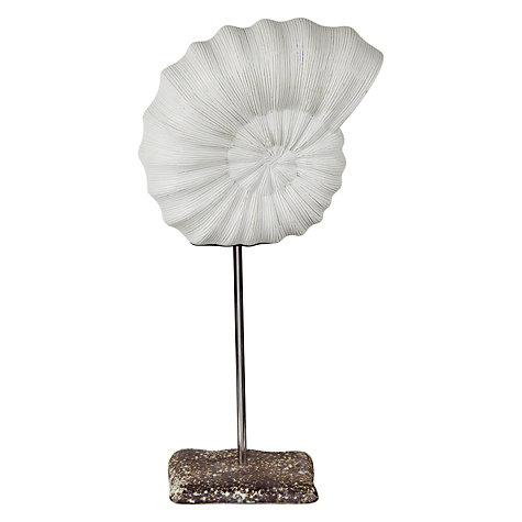 Buy John Lewis Decorative Ammonite Sculpture Online at johnlewis.com