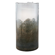 Buy John Lewis Glass Meteor Vase, Turquoise, Small Online at johnlewis.com
