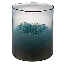 Buy John Lewis Glass Meteor Vase, Turquoise, Large Online at johnlewis.com