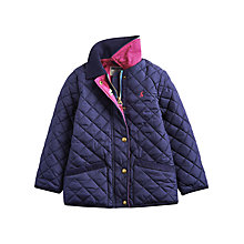 Buy Little Joule Mabel Jacket, Navy Online at johnlewis.com
