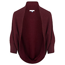 Buy John Lewis Girl Cocoon Cardigan, Plum Online at johnlewis.com