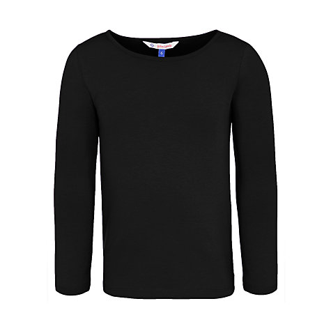 Buy John Lewis Girl Basic Long Sleeve T-Shirt Online at johnlewis.com