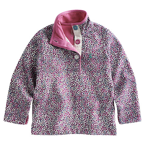 Buy Little Joule Ditsy Floral Cowdray Sweater, Multi Online at johnlewis.com