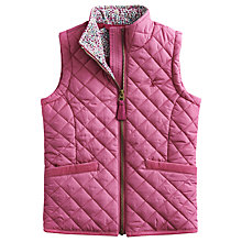 Buy Little Joule Beccles Gilet, Pink Online at johnlewis.com