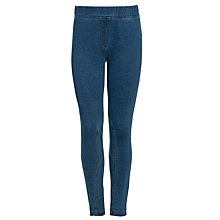 Buy Little Joule Girl's Full Length Jeggings, Denim Online at johnlewis.com