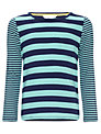 John Lewis Girl Striped Long Sleeve Top