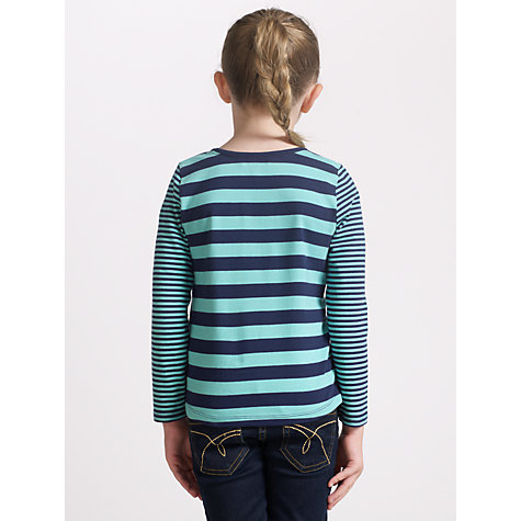 Buy John Lewis Girl Striped Long Sleeve Top Online at johnlewis.com