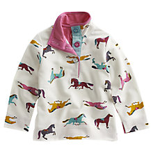 Buy Little Joule Cowdray Sweatshirt, Cream/Multi Online at johnlewis.com
