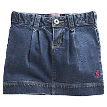 Buy Little Joule Denim Skirt, Blue Online at johnlewis.com